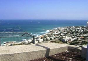 Overlook from Mt Carmel, Haifa